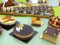 Dessert en taart buffet